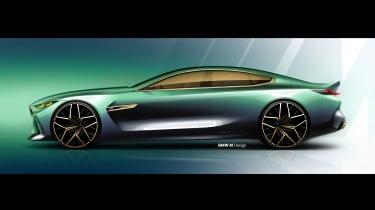 BMW M8 Gran Coupe - sketch