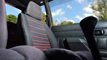 Ford Escort XR3 - seats