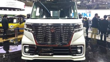 Suzuki Spacia Custom concept grille