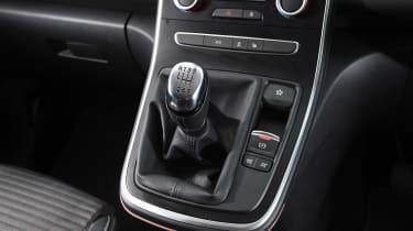 Renault Scenic - centre console