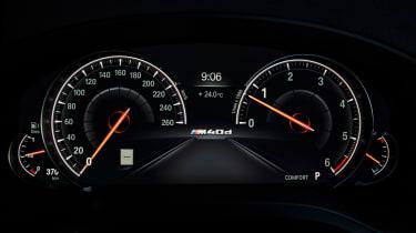 BMW X4 - speedo