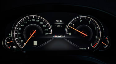BMW X4 - speedo