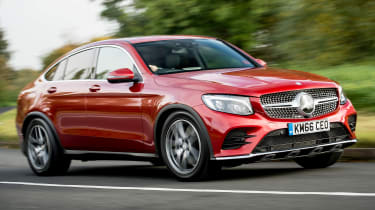 Mercedes GLC 250d Coupe - front/side action