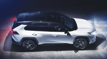 New Toyota RAV4 - above/side