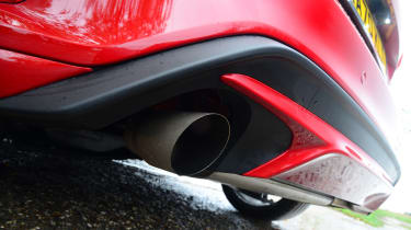 Ford Focus ST automatic - exhausts