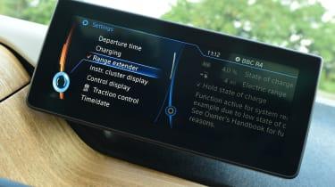 Long-term test review: BMW i3 REx screen 1