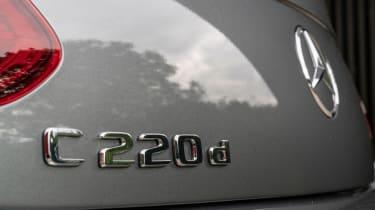 Mercedes C-Class Cabriolet - rear bumper