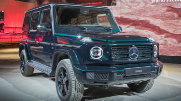 New Mercedes G-Class revealed - front