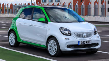 A to Z guide to electric cars - smart ForFour ED