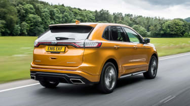 Ford Edge Sport - front action