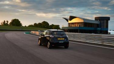 Renault Zoe hypermiling feature - rear