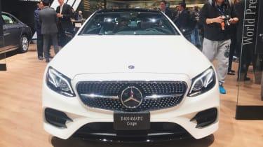 Mercedes E-Class Coupe - front