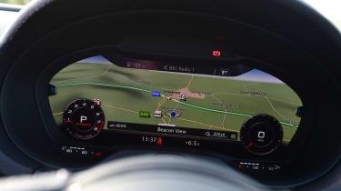 Audi S3 Saloon 2017 - Virtual Cockpit