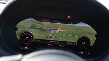 Audi S3 Saloon 2017 - Virtual Cockpit