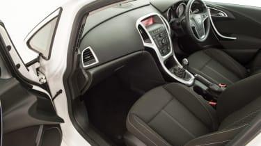 Used Vauxhall Astra - passenger seat
