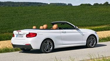 BMW 220d Convertible - rear static