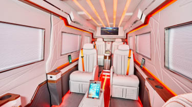 Klassen Sprinter VIP armoured interior