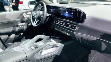 Mercedes GLS - New York dash