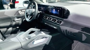 Mercedes GLS - New York dash