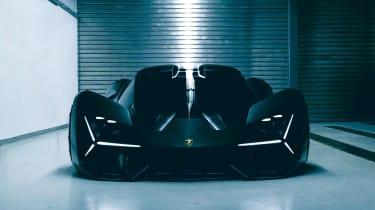 Lamborghini Terzo Millennio - full front dark