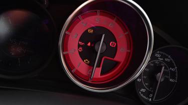 Abarth 124 GT - speedo