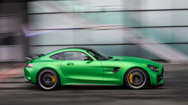 Mercedes-AMG GT R - action