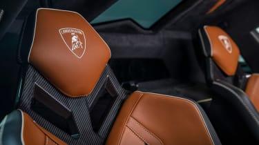 Lamborghini Sian - seats