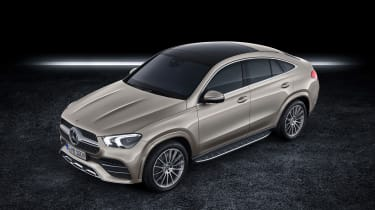 Mercedes GLE Coupe - front 3/4 aerial static