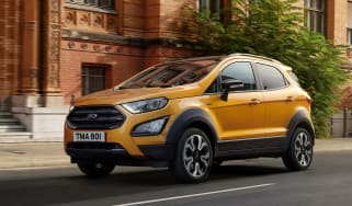 Ford EcoSport rear quarter static