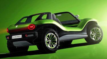 Volkswagen ID. Buggy concept - rear