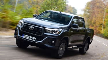Toyota Hilux - front cornering