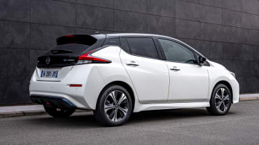 Nissan Leaf10 - rear static