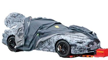 Mercedes SL 2021 - cut 2