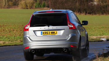 Volvo XC60 R-Design D4 2014 rear action