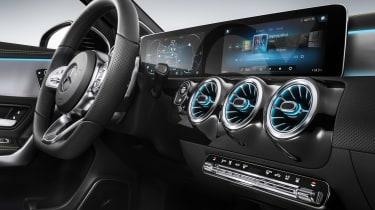 New Mercedes A-Class - studio screens