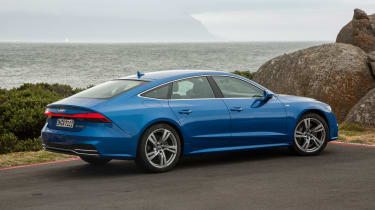 Audi A7 Sportback - rear static