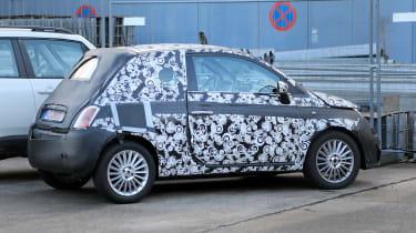 2020 Fiat 500 - spies - rear 3/4 static