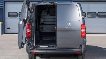 PSA van door rear
