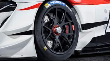 Toyota GR Supra concept alloy wheel