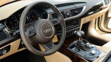 Audi A7 front interior