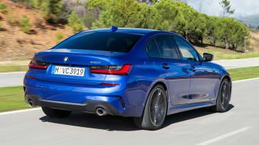BMW 330i - rear