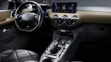 DS 3 Crossback - steering wheel
