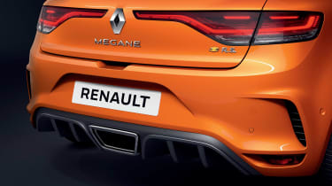 Renault Megane RS - rear detail