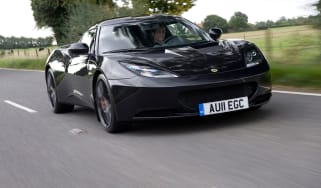 Lotus Evora front tracking