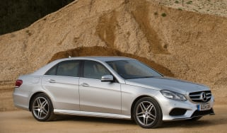 Used Mercedes E-Class - front