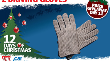 Day 11: 2 (pairs of) driving gloves