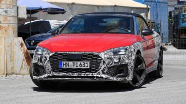 Audi S5 Cabriolet - spyshot 1