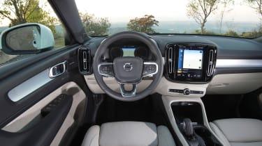 Volvo XC40 SUV - interior