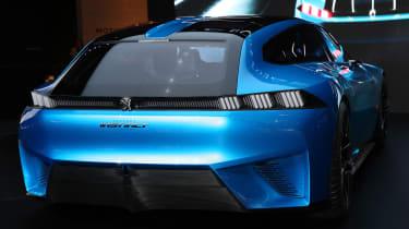 Peugeot Instinct concept Geneva - full rear