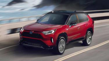 Toyota RAV4 Prime - front action
